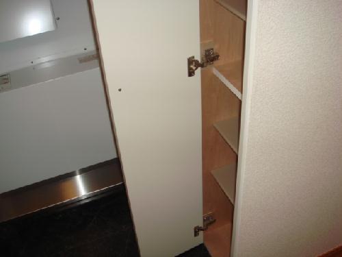 レオパレスグランディスリング 204号室の収納