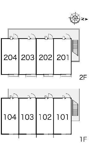 レオパレスJ BOX Ⅲ 103号室のその他
