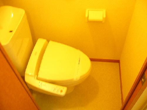 レオパレスさくら 206号室のトイレ