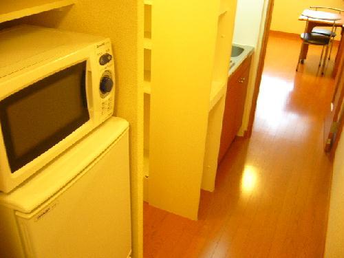 レオパレスさくら 206号室のキッチン
