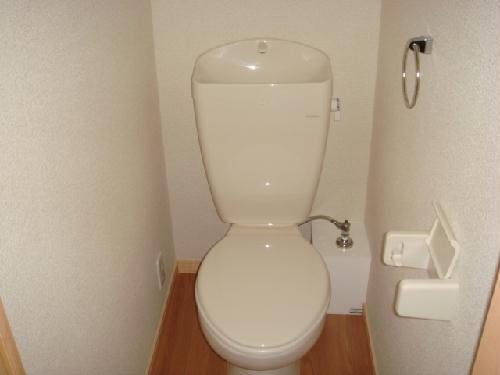 レオパレス水向 213号室のトイレ