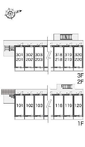 レオパレス水向 213号室のその他