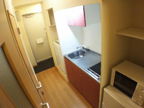 レオパレスシーナ アイ掛川 108号室のキッチン