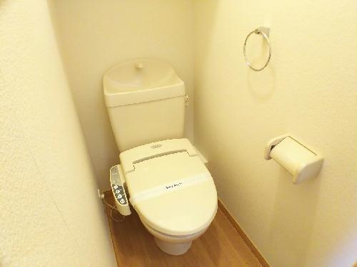 レオパレスシーナ アイ掛川 108号室のトイレ