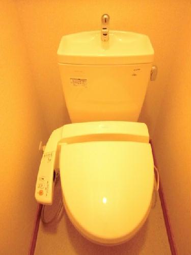 レオパレスKOMOTO足利 107号室のトイレ