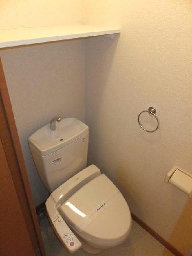 レオネクストパストラル セゾン 111号室のトイレ