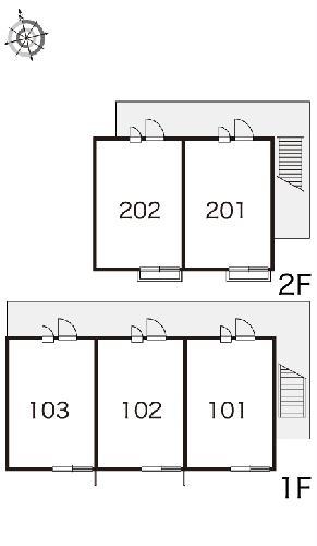 レオパレスエミナⅡ 103号室のその他