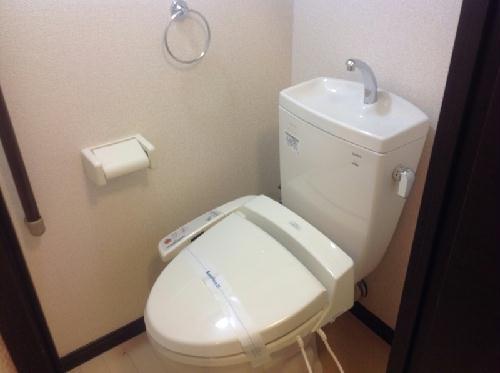 レオネクストリッフェル 202号室のトイレ