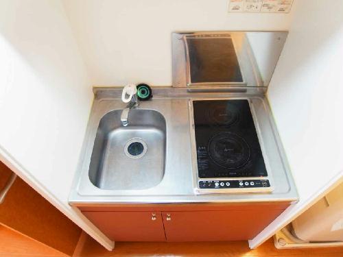 レオパレスピュアライズパートⅡ 201号室のキッチン