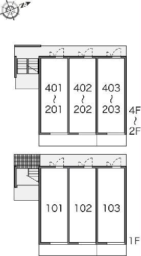 レオパレスリソランテ 301号室のその他