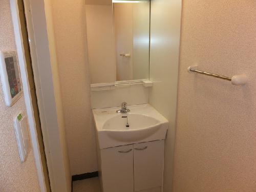 レオネクストウテナ 101号室の洗面所