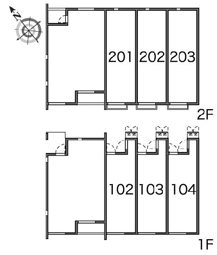 レオネクストエールⅢ 203号室のその他