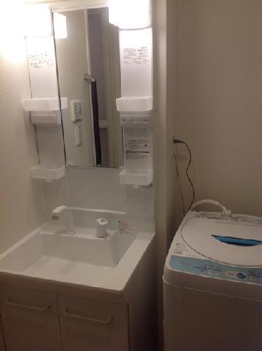 クレイノ寺津 204号室の洗面所