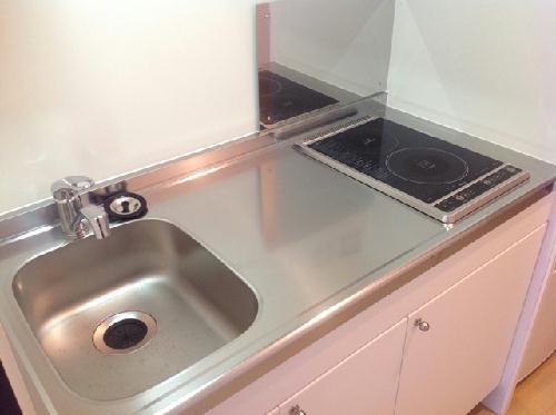 クレイノ寺津 204号室のキッチン