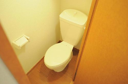 レオパレスドゥ ボワ 205号室のトイレ
