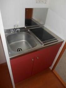 レオパレスサンフォレスト天沼 302号室のキッチン