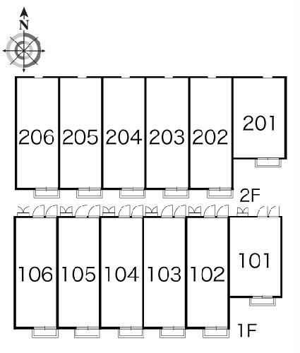 レオパレスTRS 205号室のその他共有