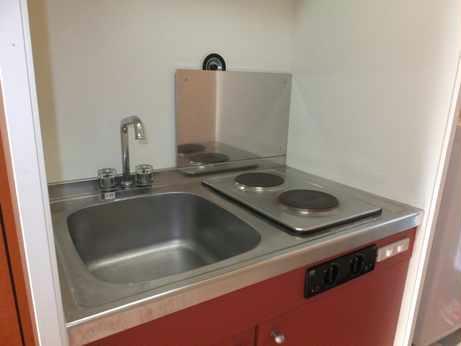 レオパレスすみれ 205号室のキッチン