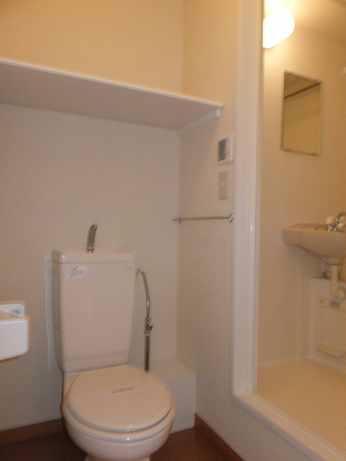 レオパレスすみれ 205号室のトイレ