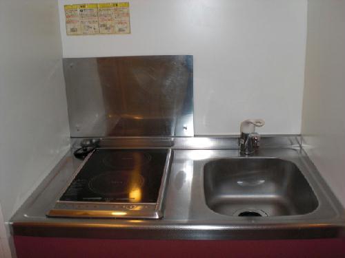 レオパレスベルダカーサ 208号室のキッチン