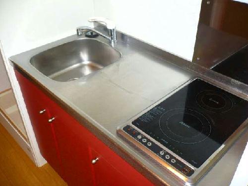 レオパレスMakearrowⅢ 210号室のキッチン