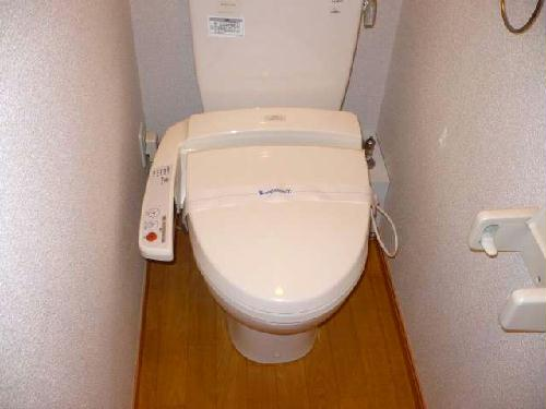 レオパレスMakearrowⅢ 210号室のトイレ