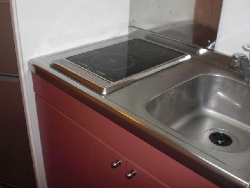 レオパレス渡Ⅰ 109号室のキッチン