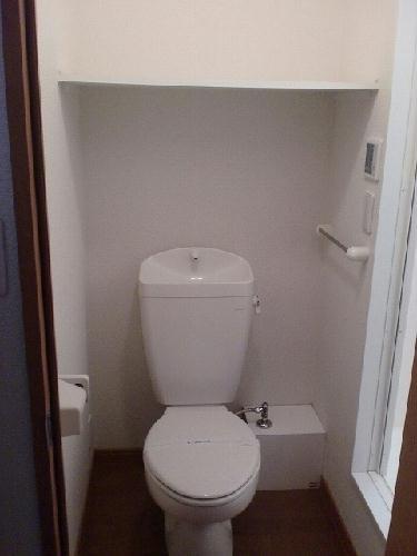 レオパレスコロモ 202号室のトイレ