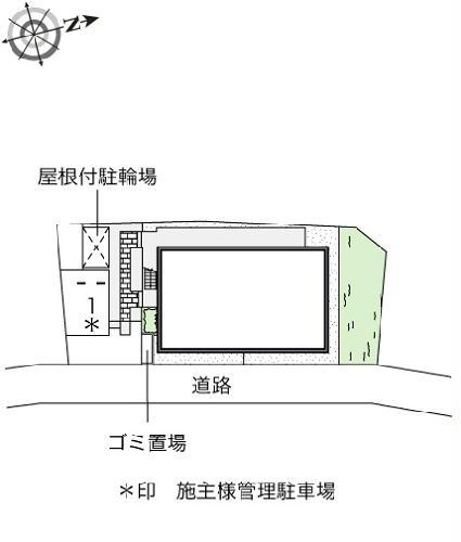 レオネクストルミエール小沢 103号室のトイレ