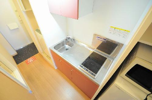 レオパレスIEYASU 304号室のキッチン