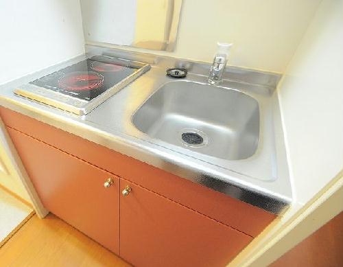 レオパレスハッピーワン 206号室のキッチン