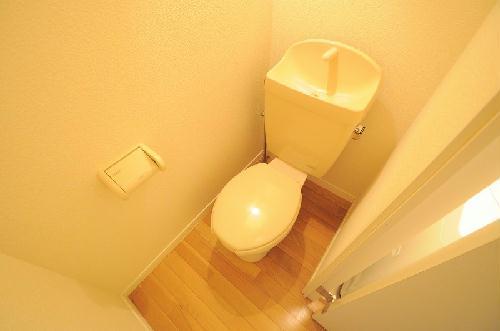 レオパレスハッピーワン 206号室のトイレ