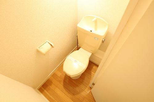 レオパレスル・ブランシェ 201号室のトイレ