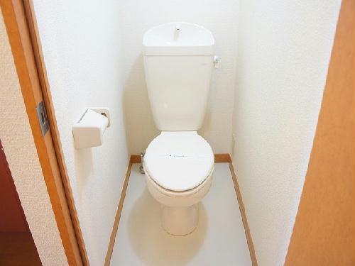 レオパレスRIVER WIN 204号室のトイレ