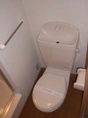 レオパレス三立ハイツB 202号室のトイレ