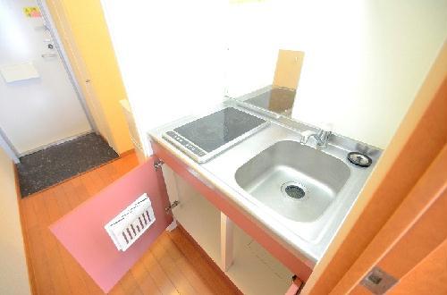 レオパレス三立ハイツC 202号室のキッチン