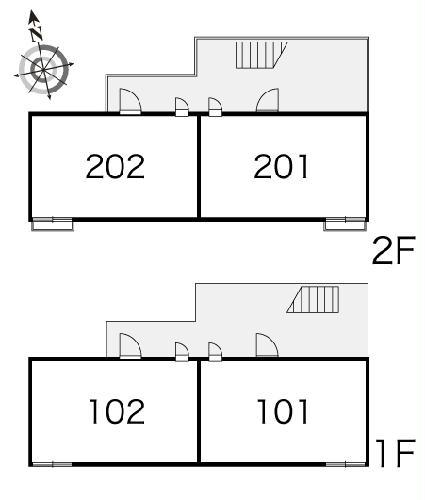 レオパレス三立ハイツC 202号室のその他