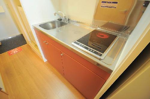 レオパレスコーポ西新道バザール 109号室のキッチン