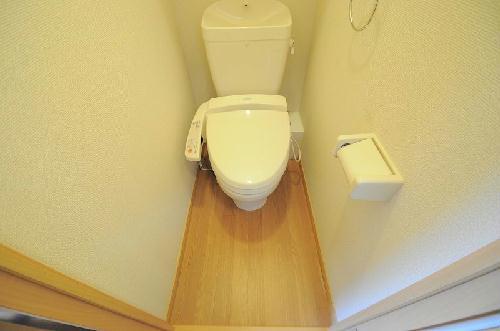 レオパレスコーポ西新道バザール 109号室のトイレ