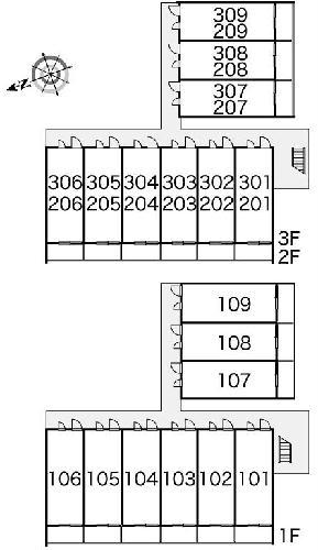 レオパレスコーポ西新道バザール 109号室のその他