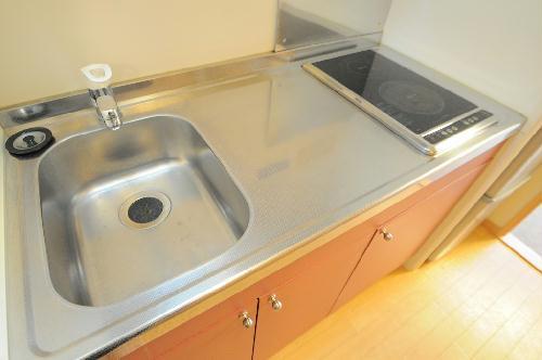 レオパレスTYK壬生 101号室のキッチン