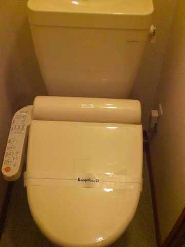 レオパレスJ BOX Ⅳ 201号室のトイレ