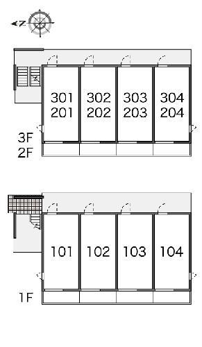 レオネクストラフォーレ 101号室のその他