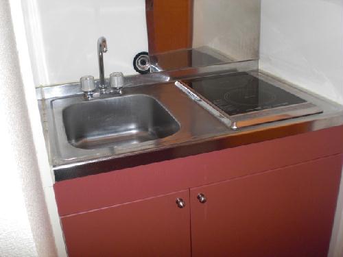 レオパレスMARCHENⅡ 105号室のキッチン