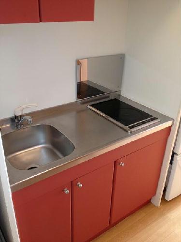 レオパレスグランダーム 308号室のキッチン