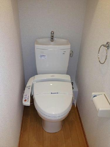 レオパレスグランダーム 308号室のトイレ