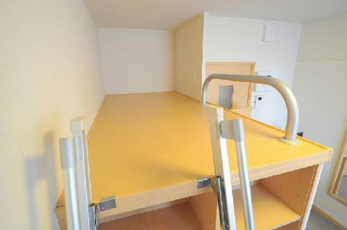 レオパレス栄 208号室のベッドルーム