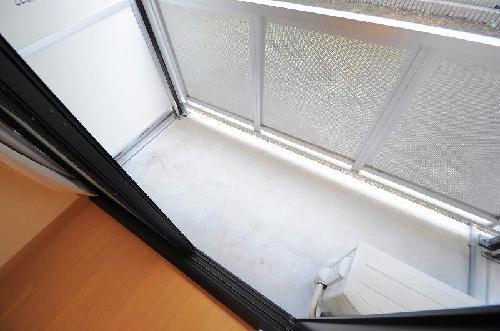 レオパレス栄 208号室のバルコニー