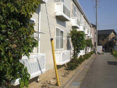 レオパレス幸田B 102号室のバルコニー