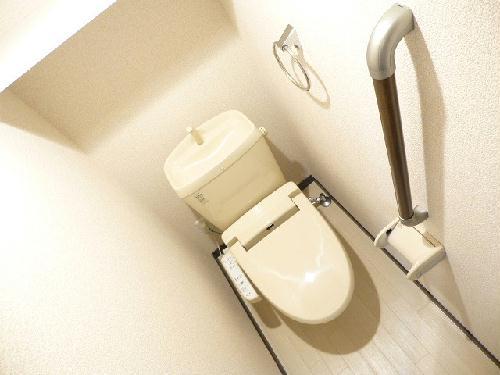 レオネクストシルクⅡ 203号室のトイレ